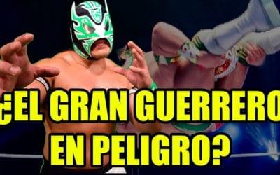 ¿Peligra la participación de Gran Guerrero en el 87 Aniversario del CMLL?