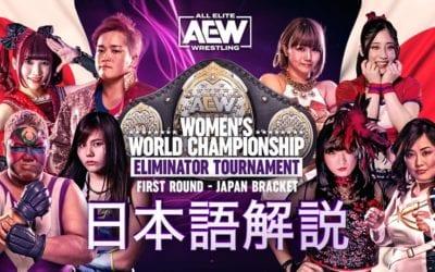 AEW Women's World Championship Eliminator Tournament: Japan Bracket – First Round Review (02/15/2021)