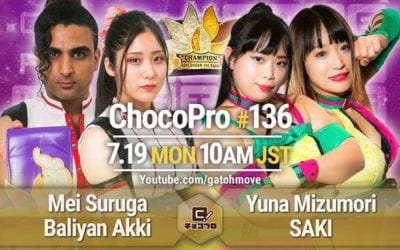 GATOH Move Pro Wrestling ChocoPro #136 Review (07/19/2021)
