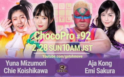 GATOH Move Pro Wrestling ChocoPro #92 Review (02/28/2021)