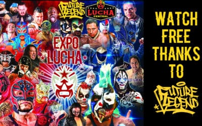WATCH FREE: The entire Expo Lucha Future Legend Supershow From Las Vegas