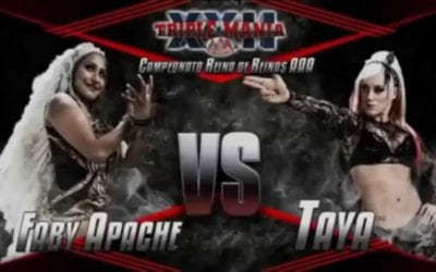 Match of the Day: Taya Valkyrie Vs. Faby Apache (2014)