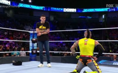 WWE Friday Night SmackDown & WWE 205 Live in San Jose Results (10/08/2021)