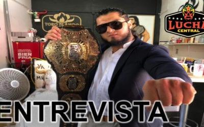 Damiana Vicenzo viene hacer historia con Federación Wrestling: Rush