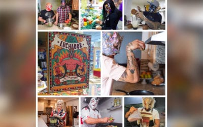 Leading Lucha Libre Journalist Mónica Ochoa And Masked Republic's® Legends of Lucha Libre® Release Eat Like A Luchador™ Cookbook