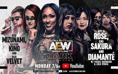 AEW Dark: Elevation Episode 33 (10/18/2021)