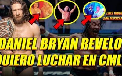 ¿Daniel Bryan podría ser parte del Aniversario del CMLL?