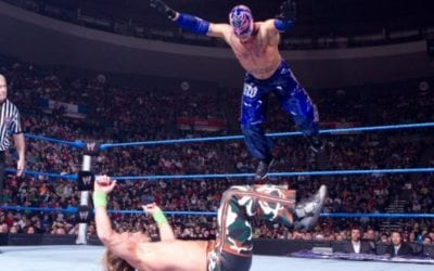 Match of the Day: Rey Mysterio Vs. Shawn Michaels (2010)