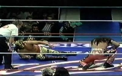 Match of the Day: Ultimo Guerrero Vs. Mr. Aguila (1998)