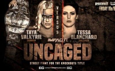 Match of the Day: Taya Valkyrie Vs. Tessa Blanchard (2019)