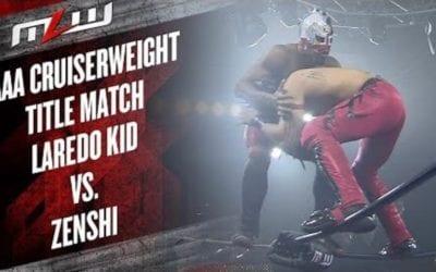 MLW Fusion: Laredo Kid Vs. Zenshi