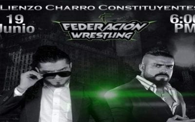 Andrade, Rush and La Faccion Ingobernable will no longer be part of the Federacion Wrestling debut show