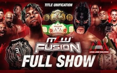 MLW Fusion #121: MLW Vs. Lucha Libre AAA Title Unification Match