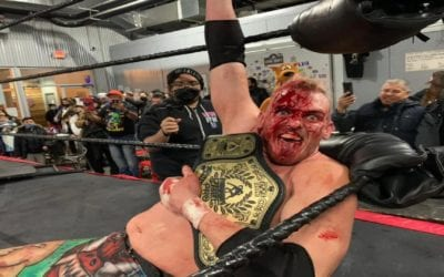 Sam Adonis retains the PPW Championship against Legends of Lucha Libre's Psycho Clown