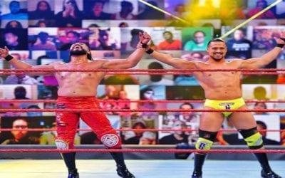 WWE Monday Night RAW in Orlando Results (09/21/2020)