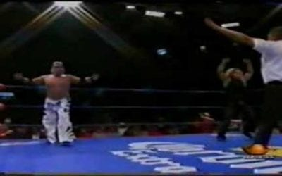 Match of the Day: Ricky Marvin Vs. Zumbido (2003)