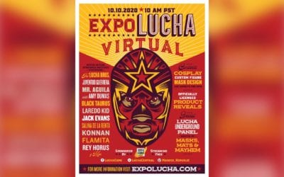 Expo Lucha Goes Virtual! Star Packed Event To Stream October 10th Featuring Matches & Much More!