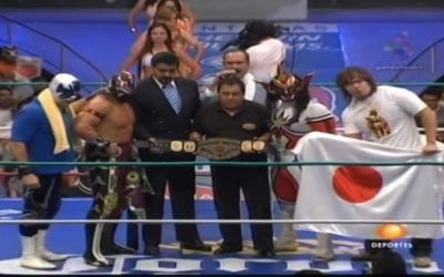 """Match of the Day: Ultimo Guerrero Vs. Jushin """"Thunder"""" Liger (2009)"""