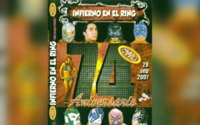 Match of the Day: Blue Panther Vs. Lizmark Jr. Vs. Atlantis Vs. Mistico Vs. Dr. Wagner Jr. Vs. Ultimo Guerrero Vs. Villano V Vs. Hijo del Perro Aguayo (2007)