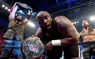 MexiSquad lose the ROH World 6-Man Tag Team Championship against Shane Taylor Promotions