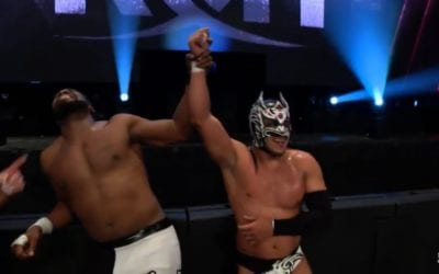 Legends of Lucha Libre's Dragon Lee & Kenny King wins a title shot for the ROH World Tag Team Championship