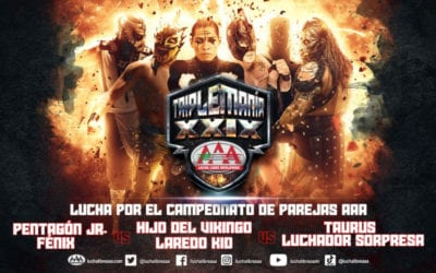 Lucha Libre AAA presents its complete card for Triplemania XXIX
