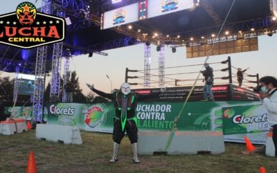 Everything ready for the beginning of Auto Luchas AAA