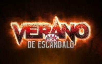 Lucha Libre AAA Verano de Escandalo: How to watch, start times and card