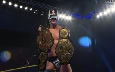 Legends of Lucha Libre's Dragon Lee & Kenny King Wins the ROH World Tag Team Championship
