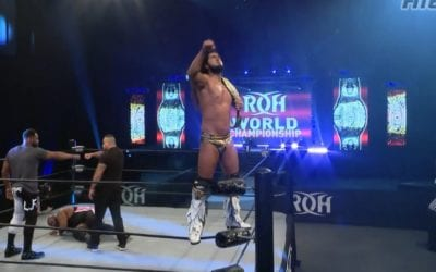 Legends of Lucha Libre's Rush Retains the ROH World Championship Against Shane Taylor