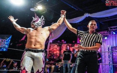 Legends of Lucha Libre's Laredo Kid defeats Ace Perry at AAW United We Stand