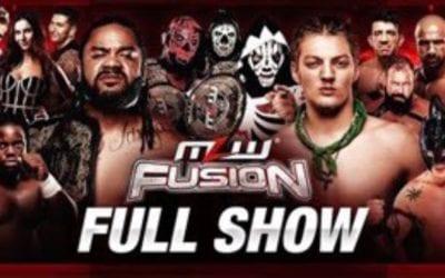 MLW Fusion #123: Los Parks Vs. CONTRA   Calvin Tankman Vs. Legends of Lucha Libre's Laredo Kid