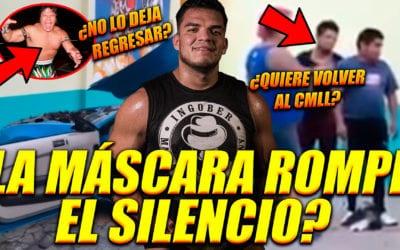 ¿La Máscara busca regresar al CMLL?