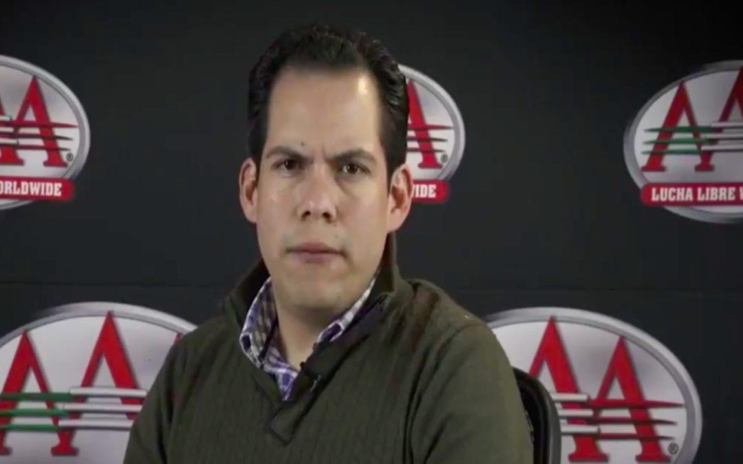 Lucha Libre AAA's Dorian Roldan wants wrestling Performance Center in Mexico