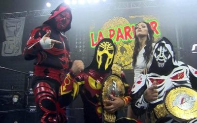 Los Parks retains the MLW World Tag Team Championship against CONTRA Unit