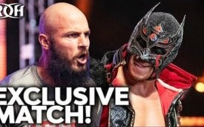 Ring of Honor: Legends of Lucha Libre's Dragon Lee Vs. Brian Johnson