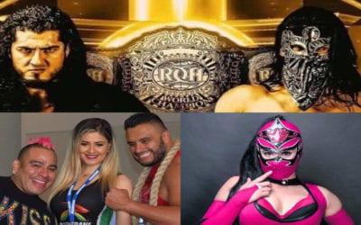 Ráfaga Luchística: Texano Jr. y Máximo dejan Lucha libre AAA, Rush Vs. Bandido, Mystique se retira y mucho más