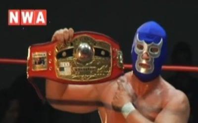 Match of the Day: Blue Demon Jr. Vs. Adam Pearce (2008)