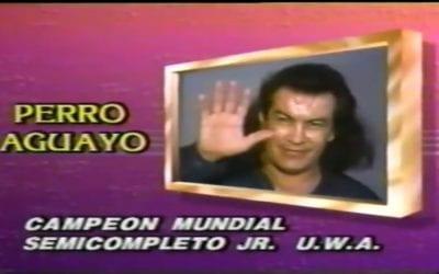 Match of the Day: Perro Aguayo, El Satanico & Kung Fu Vs. Atlantis, El Dandy & Ringo Mendoza (1990)