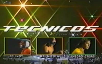 Match of the Day: Negro Casas, El Felino & Mr. Niebla Vs. Los Guapos (1999)