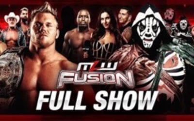 MLW Fusion #124: Alex Hammerstone Vs. L.A Park   MLW National Openweight Championship
