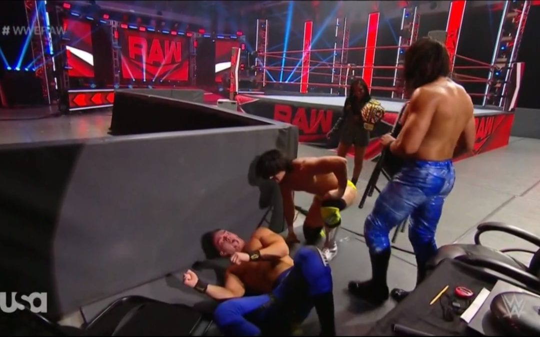 WWE Monday Night RAW in Orlando Results (05/18/2020)