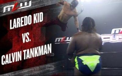 MLW Fusion: Legends of Lucha Libre's Laredo Kid Vs. Calvin Tankman