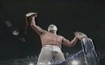 Match of the Day: El Hijo del Santo Vs. Heavy Metal (1993)