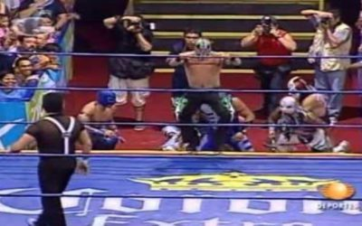 Match of the Day: Lucha Libre AAA Alas de Oro (2007)