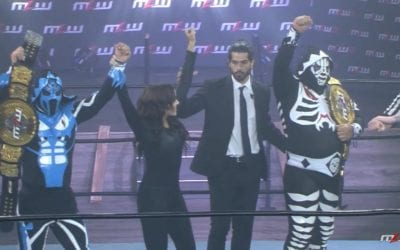 New successful title defense of Los Parks as MLW World Tag Team Champions