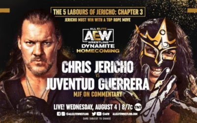 Legends of Lucha Libre's Juventud Guerrera returns to TNT 20 years later to face Chris Jericho