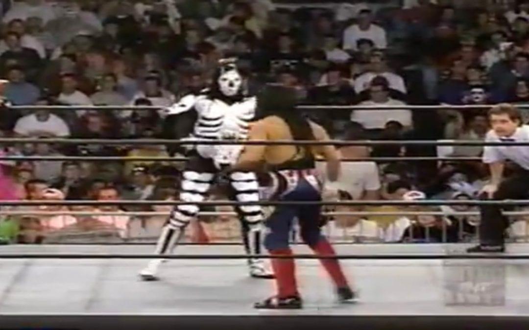 Match of the Day: Juventud Guerrera, Hector Garza & Super Calo Vs. La Parka, Damian 666 & Ciclope (1997)