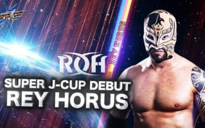 Rey Horus will be part of the NJPW Super J Cup tournament representing ROH