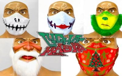 PWR's Lucha Masks released Holiday Masks special Edition